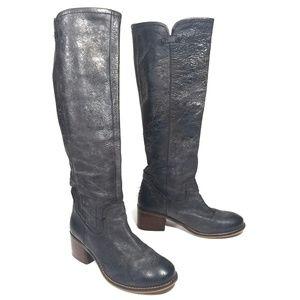 Diba True Black Leather Wind Rider Boot / 6.5